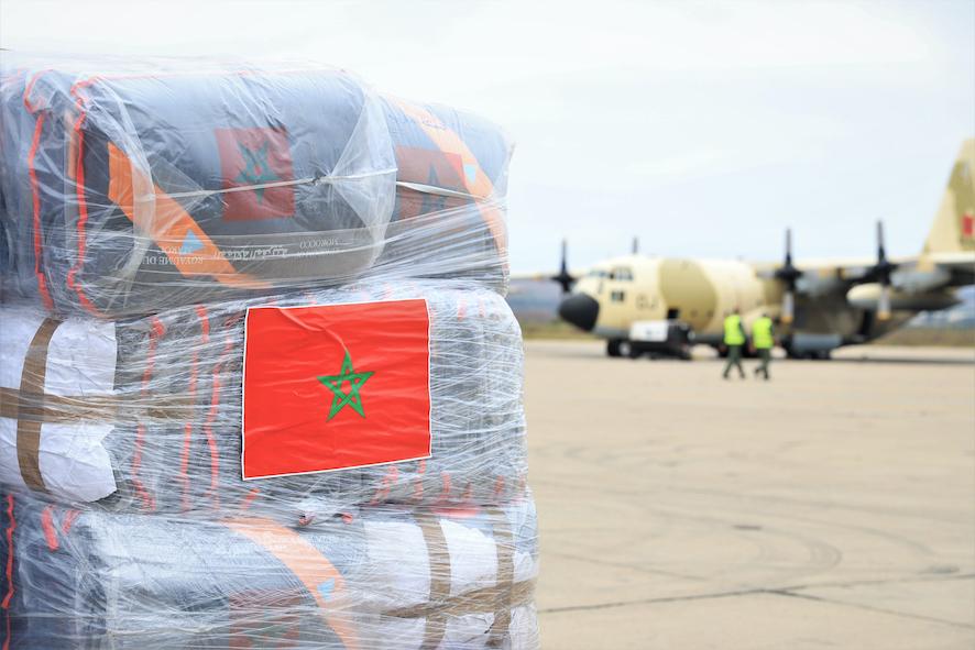 إشادة بجودة وتنوع المساعدات الإنسانية المغربية للبنان