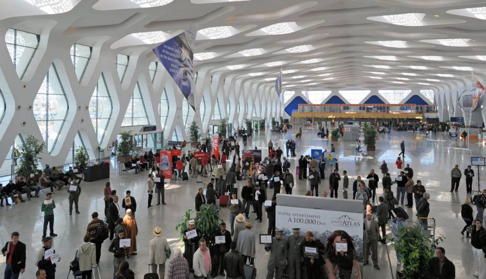 مطار مراكش-المنارة سابع أفضل مطار بالعالم