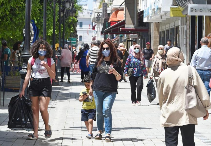 تونس تعلن انهيار منظومتها الصحية بسبب كورونا