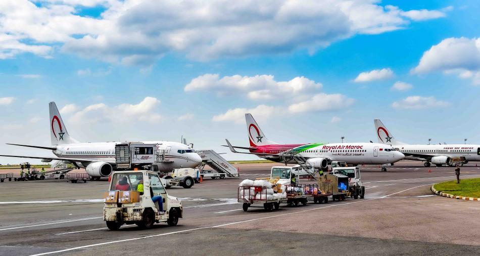تراجع حاد في حركة النقل الجوي بالمطارات المغربية