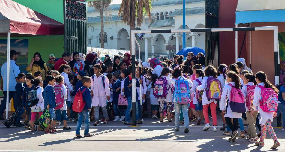 المغرب يبدأ مرحلة جديدة من محاربة الهدر المدرسي