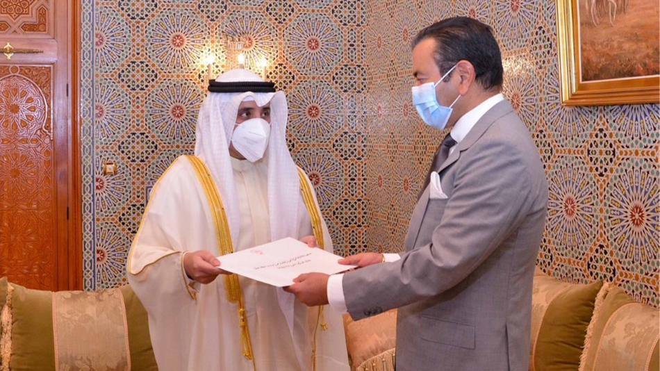 الأمير مولاي رشيد يستقبل وزير الخارجية الكويتي