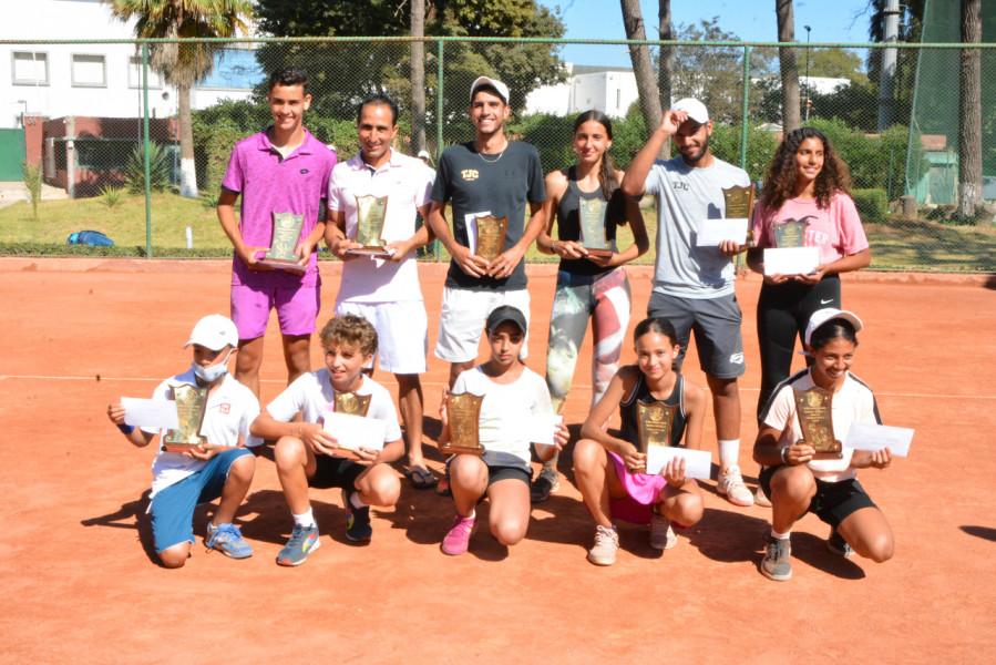 أبطال التنس يتألقون في بطولة سطاد المغربي