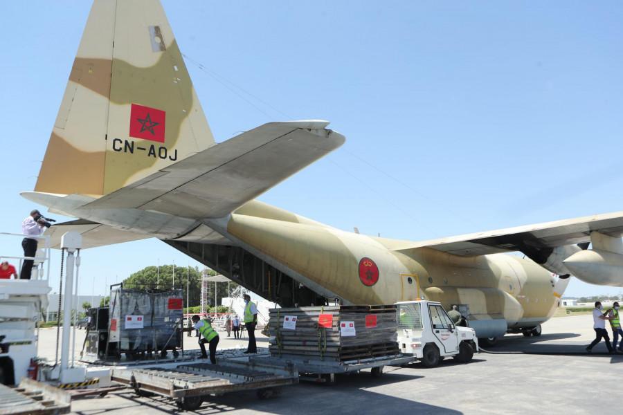 وصول أربع طائرات إلى تونس محملة بالمساعدة الطبية