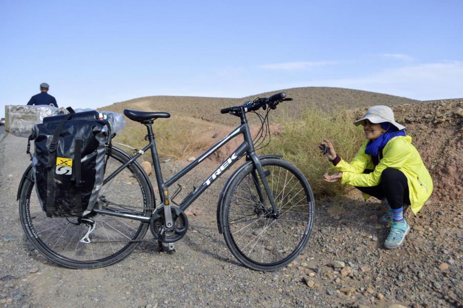مغربية تتطلع لبلوغ قمة أعلى جبل في إفريقيا