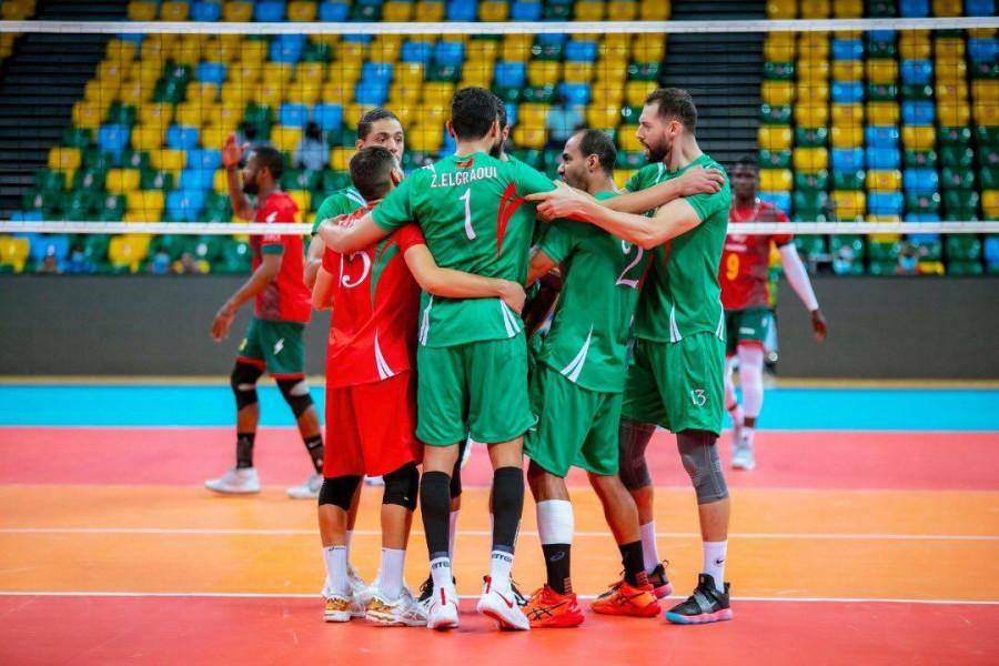 الكرة الطائرة .. المغرب ينهزم في نصف نهائي أمم إفريقيا