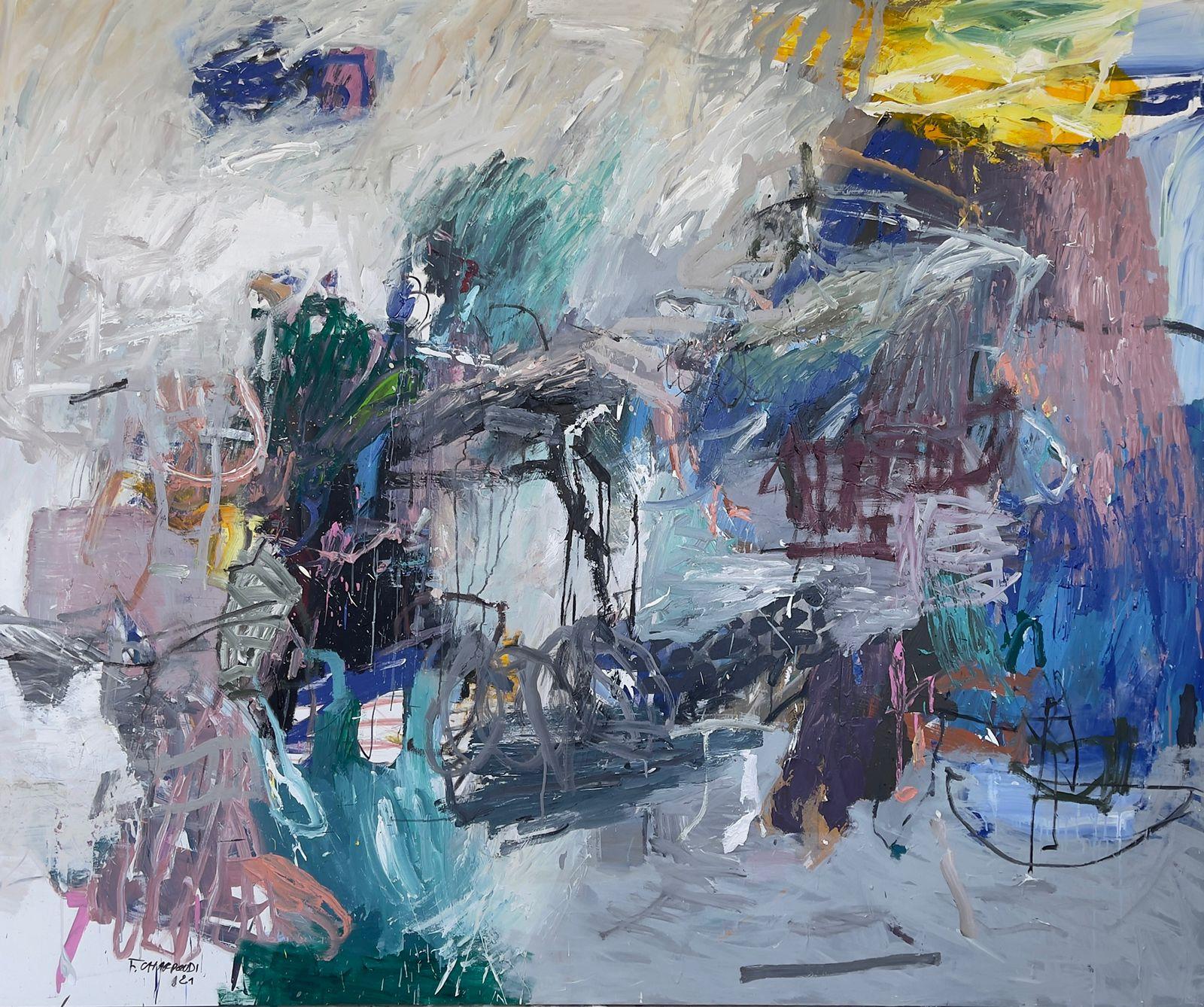 لوحة للفنان فؤاد الشردودي
